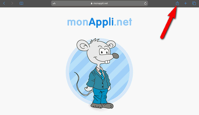 Installation de l'application sur iOs